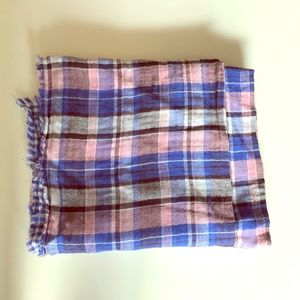 *FREE w/ $10 purchase*  Plaid and Gingham Scarf